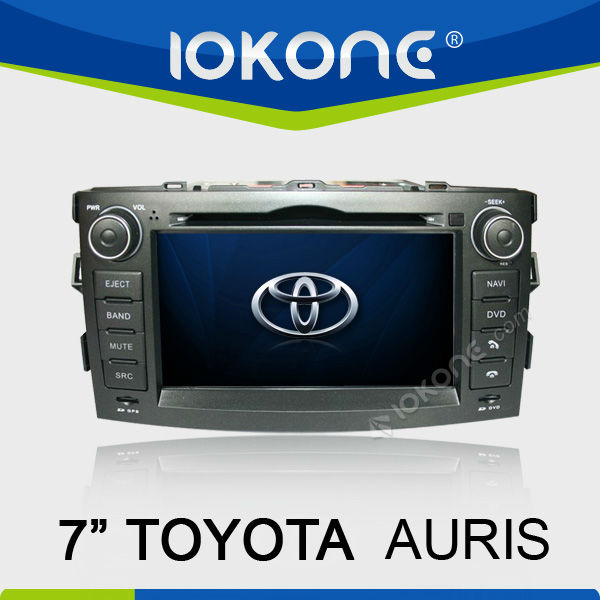 Car DVD Player built in gps for TOYOTA AURIS