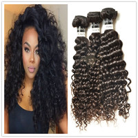 natural color mona hair indian hair vendor curly hair weft