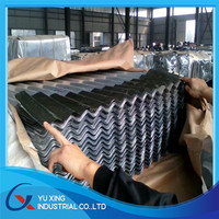 SGCC DX51D SGLCC Hot Dipped Corrugated Galvanized / Galvalume / Zincalume Steel Sheets Metal Roofing Sheets