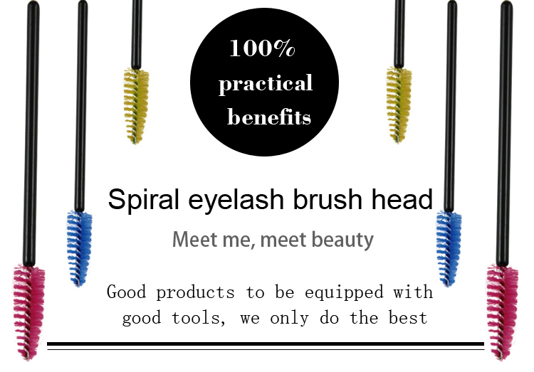 Pro Eyelash Makeup Brush Mascara Wand