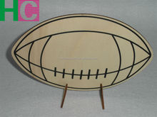wooden rugby toy