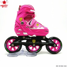 2017 outdoor sports wholesale adjustable inline skate for children
