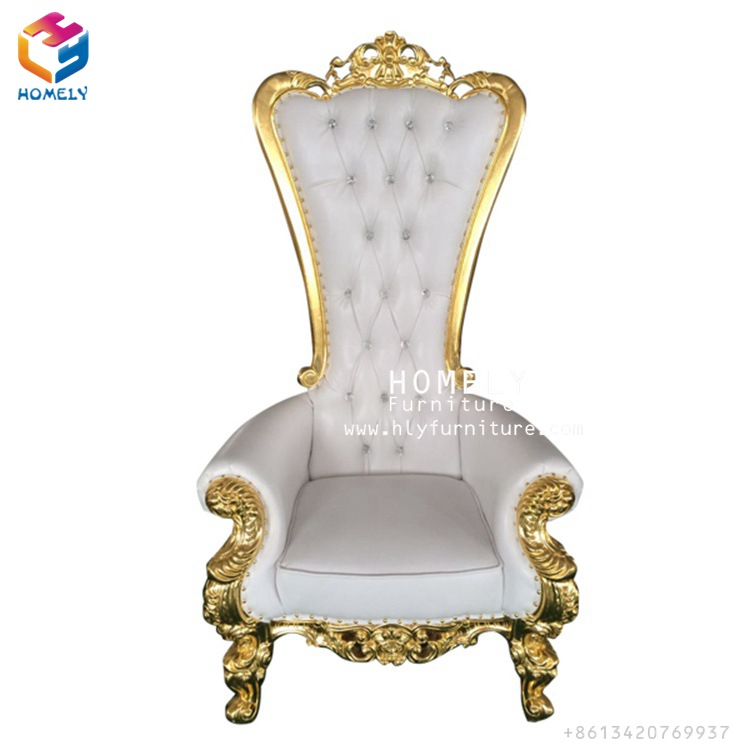 Promotional mandap royal wedding queen cheap king throne <strong>chair</strong>