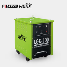 Chinese factory three phase dc green cut welder plasma cutting machine best price lgk-40 air lgk plasma cutter lgk100