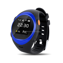 2017 children's smart watch With GPS WIFI location, Fall down alarm function and Ultra long power