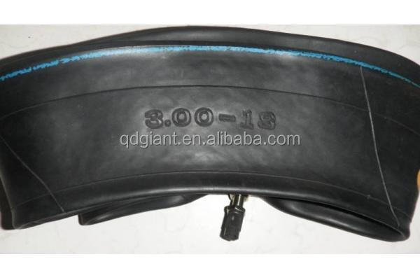 Natural rubber qingdao factory price motorcycle inner tube 3.00-18