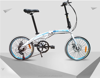 20 INCH aluminum FLODING BIKE/6 SPEED EASY TO CARRY BICYCLE/ FOLDABLE PORTABLE BIKE