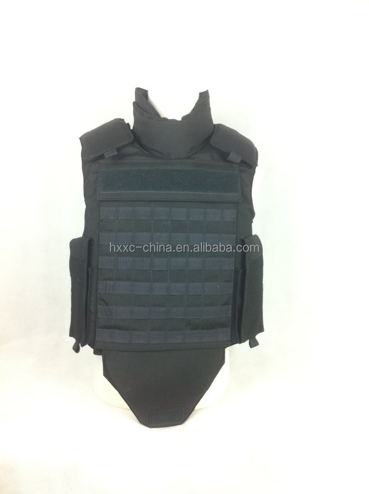 High Performance PE/Kevlar Ballistic Body Armor