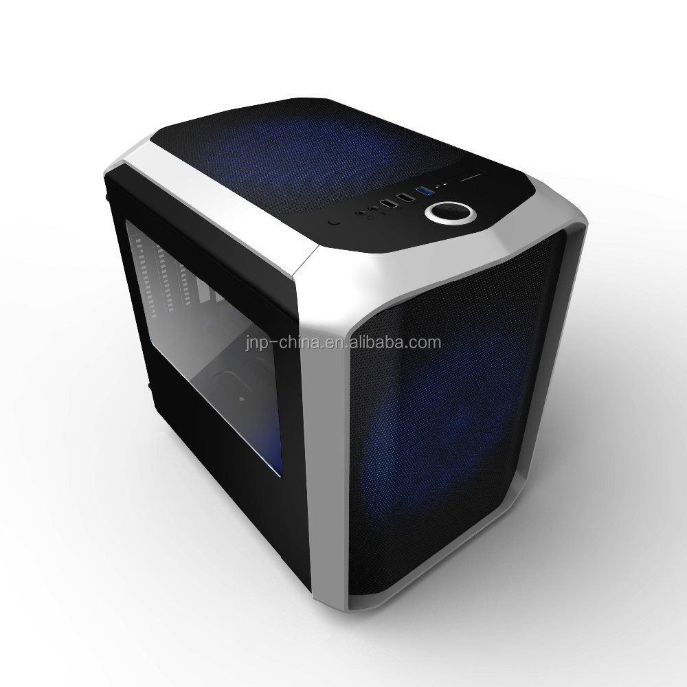 PC Case Super Mini Cube Micro ATX Desktop Computer Gaming Case