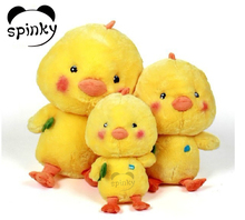 Adorable yellow stuffed animals chicken, plush chicken toys