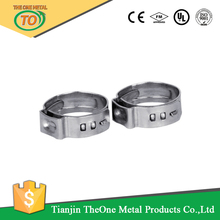 with factory single ear fence hose clamps post clamps