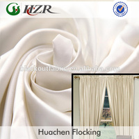 100% Polyester Blackout Satin Fabric for Curtain