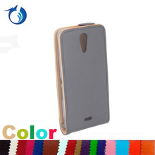 Black pouch pu leather flip case for sony Xperia ZR M36h