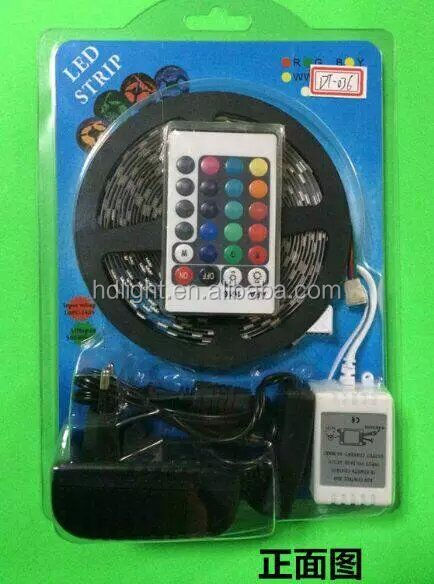 RGB flexible led strip with 24keys 44 keys LED IR Remote IR Controller for RGB Light Strip DC 12V