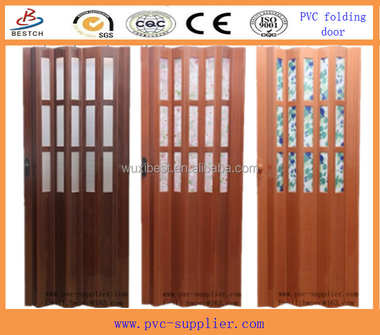 Beautiful Bathroom Pvc Folding Door Buy Pvc Folding Door
