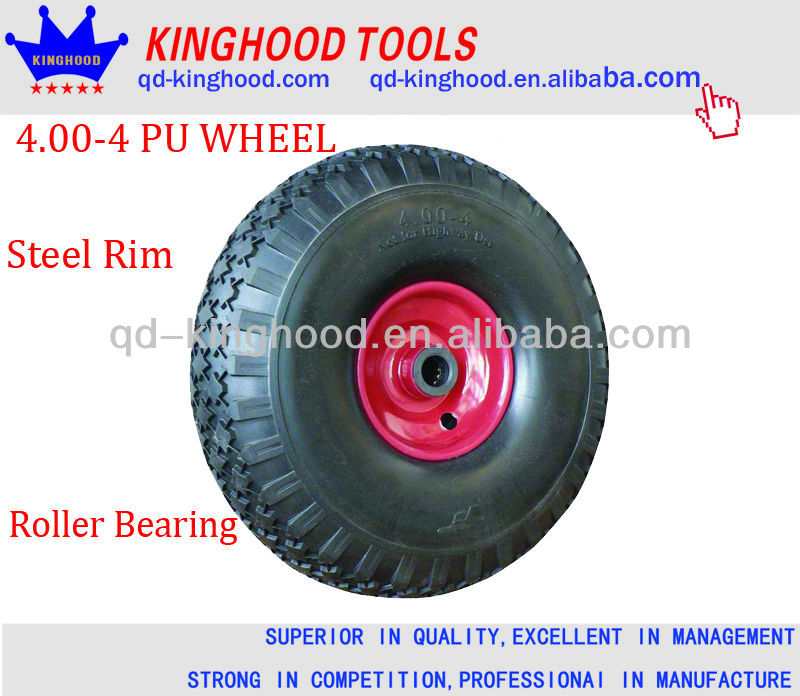 "12"" PU FOAM TIRE NO FLAT NO AIR HAND TRUCK / CART / DOLLY / FOAM TIRE"