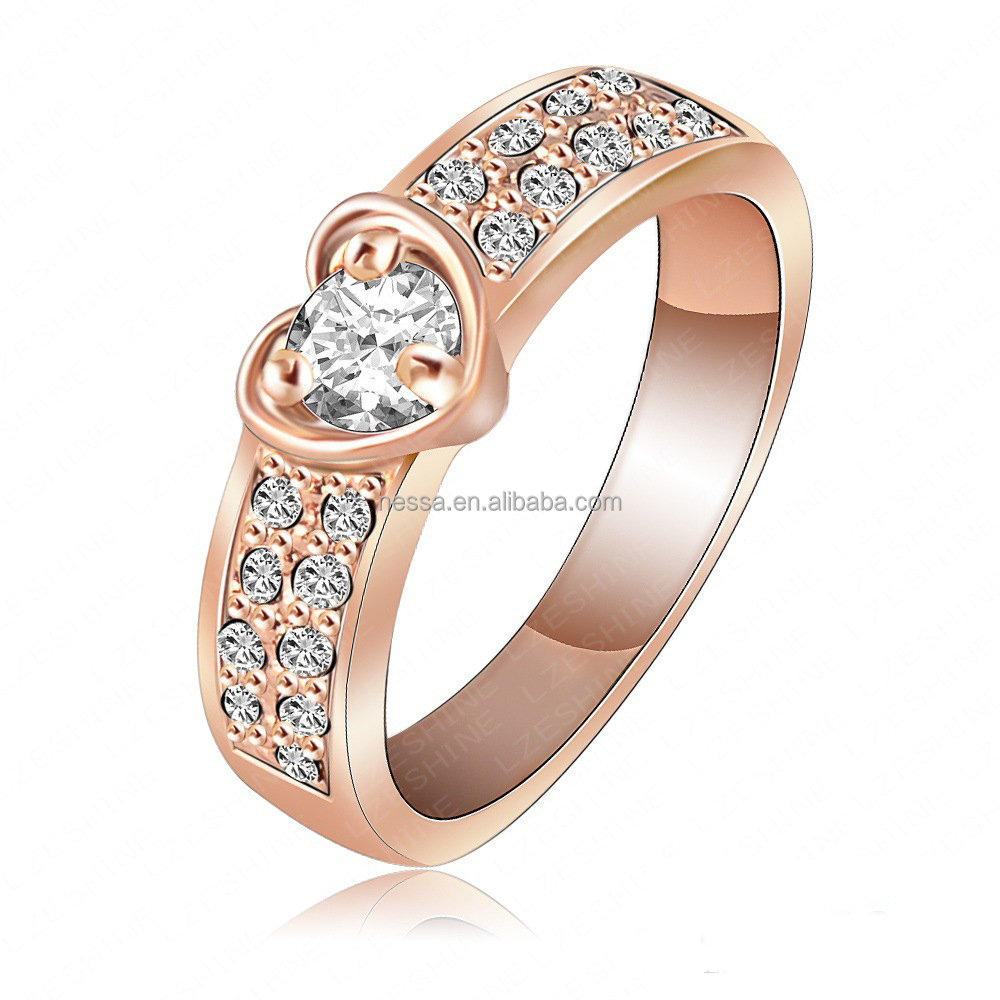 fashion gold finger ring rings design for women with price wholesale NS-A-1448