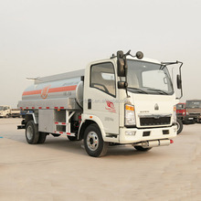 < 150hp Horsepower and 6000L Tank Volume fuel tanker truck capacity