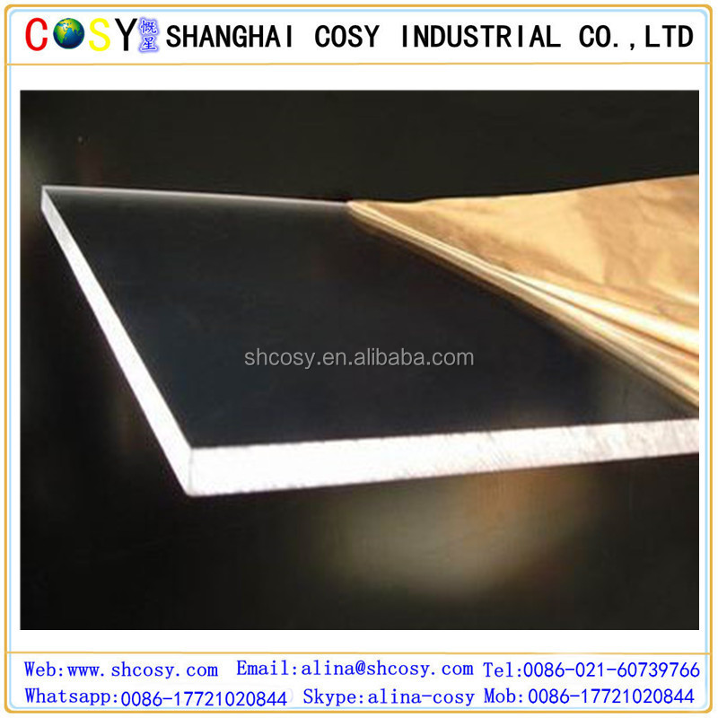 Decorative Custom Plastic Products Cast Acrylic Sheet Plexiglass Panel