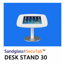 Quality - Assured Desk Top Swivel Enclosure Stand With Audio Jack