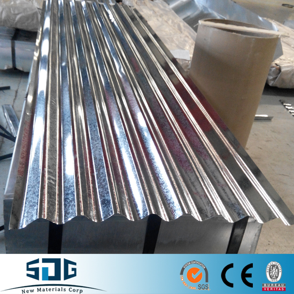 Gauge Thickness Galvanized Corrugated Steel Sheet With Price/ High-strength Metal For Factory