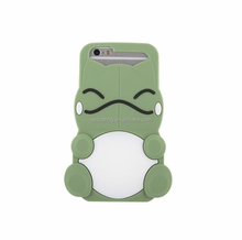 3D Smile silicone case for iphone 5 iphone 6, for iphone 6 plus 3D cute cover case