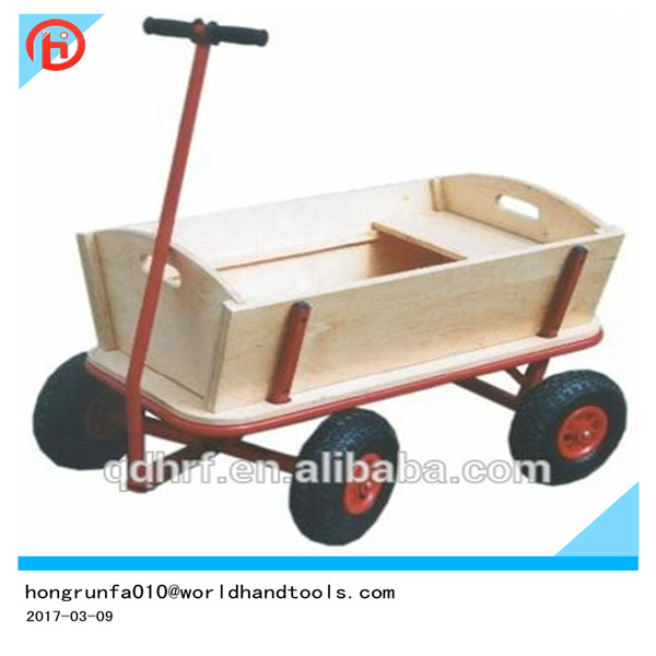TC1812M Children Wooden Garden Tool Cart