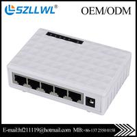 Fast 5 port Gigabit Ethernet 10/100/1000mbps Network Switch