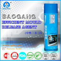 500ml Mould release film plastic / Parting agent Silicone spray B-18