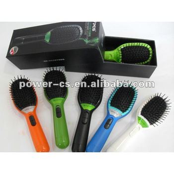 Detachable Electric Massage Ionic Hair Brush (CS-F1)