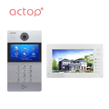 ACTOP Hot selling Building multi-apartments TCP IP Video Door Bell