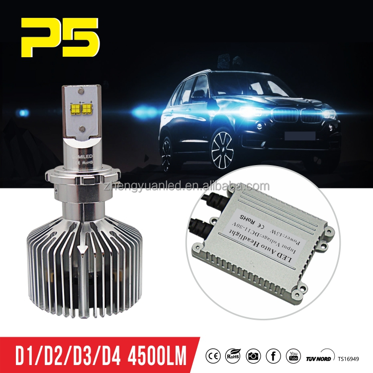 3000K/4000K/5000K/6000K D2 Car Led HeadLight