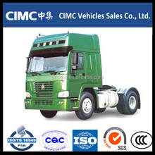 HOWO A7 420PH 6*4 Tractor Truck with lowbed Trailer for sale