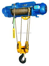 high quality popular HC/HM Wire Rope electric hoist for lifting people