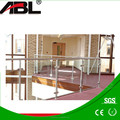 Stainless steel 304/marine 316 indoor/outdoor iron stair handrail