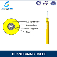 Multi purpose distribution connect fiber optic jumper indoor simplex cable