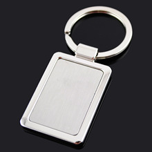 Corporate giveaways smooth surface simple metal key ring (J10037)