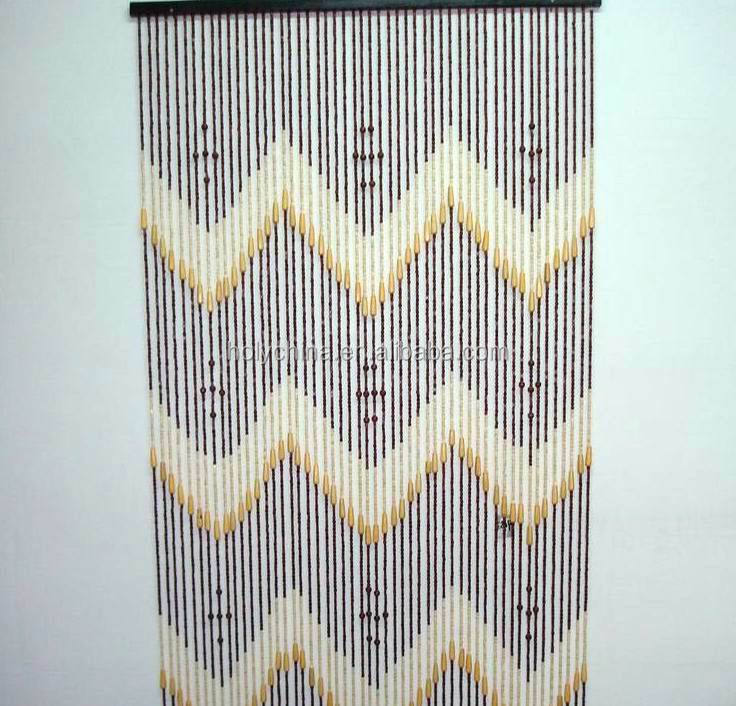 hot sale high quality bamboo beaded door curtain