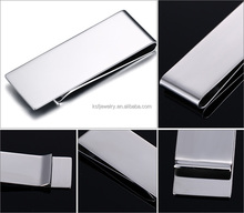 Stainless Steel Blank Money Clip High Polishing Finished Blank Money Clip In Stock