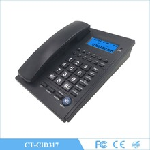 Modern high quality caller ID carded English talking number phone for office