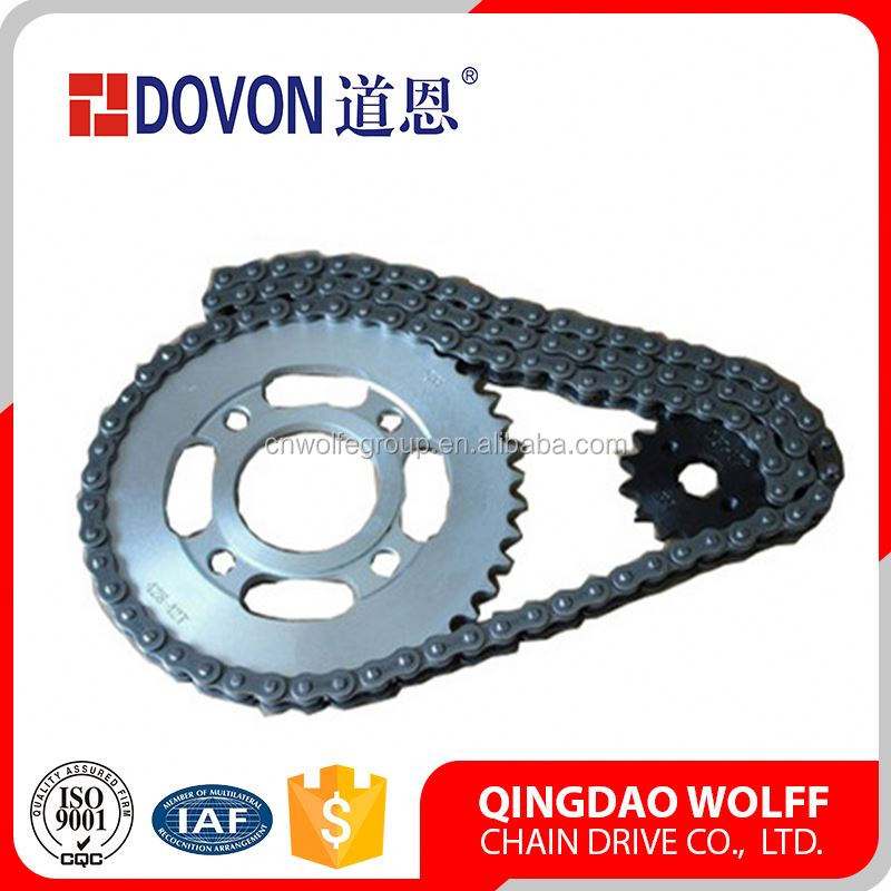Yb100 Motorcycle Parts Hinged Conveyor Chain Sprocket
