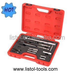AUTO BODY REPAIR TOOL SET GLOW PLUG DRILLING SET 16PCS HAND TOOL