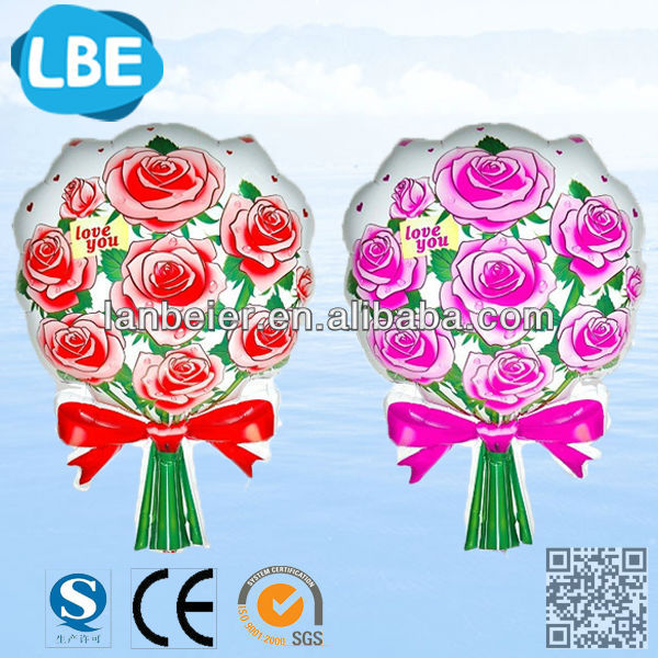 For wedding decoration foil balloon flowers helium balloon