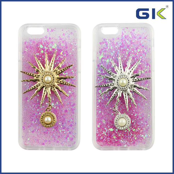[GGIT] Luxury Bling Diamond Quicksand Case for iPhone 6S DIY TPU Cover