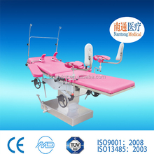 Competitive price! Manul hydraulic gynecological operating table/delivery bed