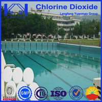 swimming pool chemical chlorine dioxide /clo2 tablet