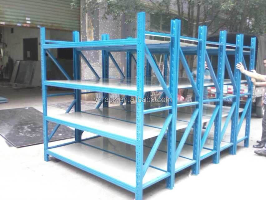 Q235 Steel Warehouse Medium Duty Shelving,Storage Stacking Racking System