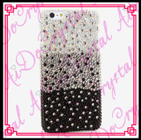 Aidocrystal Full Crystal DIY Custom balck and white Design Bling Case Cover For Samsung Galaxy J5 J7 J1 J2 J3 2016 Hard Pc Phone