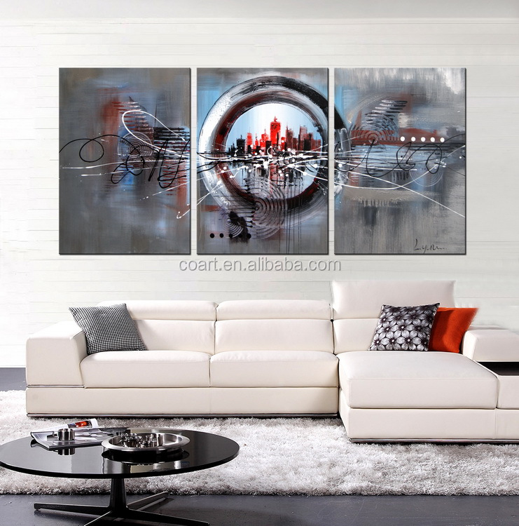 modern abstract canvas painting art