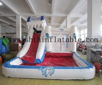 2015 jumping castles inflatable water slide